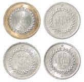 Ensemble complet de pièce de monnaie du Cambodge images stock