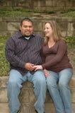 Ensemble couples Photos libres de droits