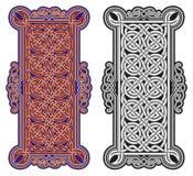 Ensemble d'éléments celtiques de conception de vecteur Image stock