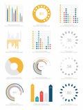 Ensemble d'éléments d'infographics Images libres de droits