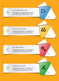 Ensemble d'éléments d'infographics Photo stock
