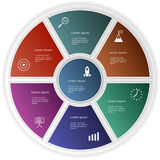 Ensemble d'éléments d'Infographic Disposition de déroulement des opérations, diagramme, rapport annuel, web design, présentation Photos libres de droits