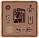 Ensemble d'éléments mexicains de conception illustration stock