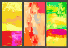 Ensemble d'éléments pour des milieux d'abrégé sur conception Photo libre de droits