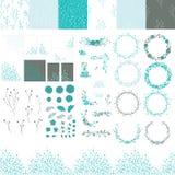 Ensemble d'éléments pour la conception illustration de vecteur