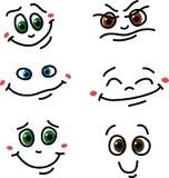 Ensemble d'émotions Images stock