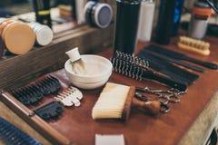 Ensemble d'équipement professionnel photos stock