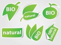Ensemble d'étiquettes de nature Image libre de droits