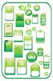 Ensemble d'étiquettes de vente Image libre de droits