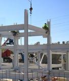 Ensemble d'acier de construction Image libre de droits