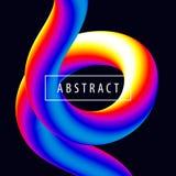 Ensemble d'affiche à la mode moderne d'abstraction de style Images stock