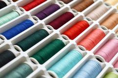 Ensemble d'amorçages de couture Photographie stock libre de droits