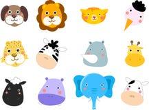 Ensemble d'animaux Images stock