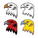 Ensemble d'Eagle Mascot Photos libres de droits