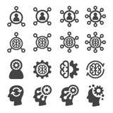 Ensemble d'icône de compétence illustration libre de droits