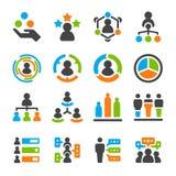 Ensemble d'icône de compétence d'identité illustration de vecteur