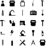 Ensemble d'icône de soudure illustration de vecteur