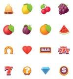 Ensemble d'icône de symboles de fentes de vecteur illustration libre de droits