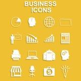 Ensemble d'icône d'affaires Image libre de droits