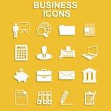 Ensemble d'icône d'affaires Images libres de droits