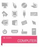 Ensemble d'icône d'ordinateur image libre de droits