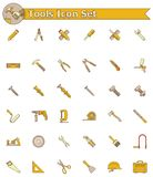 Ensemble d'icône d'outils Image libre de droits