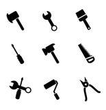 Ensemble d'icône d'outils Photographie stock