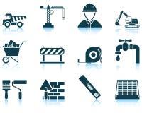 Ensemble d'icône de construction illustration libre de droits