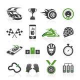 Ensemble d'icône de rassemblement, icônes de sports illustration stock