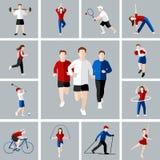 Ensemble d'icône de sport illustration libre de droits