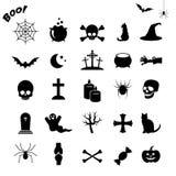 Ensemble d'icône de vecteur de Halloween Photo libre de droits