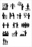 Ensemble d'icône de Web d'affaires Photographie stock libre de droits