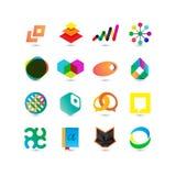 Ensemble d'icônes d'affaires de vecteur Illustration Stock