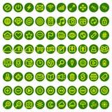 Ensemble d'icônes de Web pour des affaires, des finances et la communication Photographie stock libre de droits