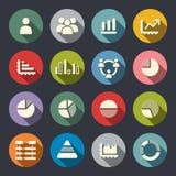 Ensemble d'Infographics Elements.Icon illustration de vecteur