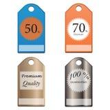 Ensemble d'insignes et de label d'affaires ENV 10 illustration stock