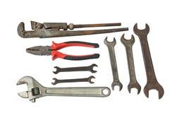 Ensemble d'outils image stock
