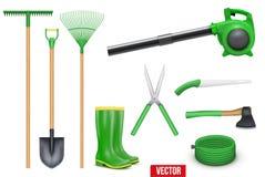 Ensemble d'outils de jardin illustration libre de droits