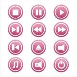 Ensemble de 12 signes de musique Illustration de Vecteur
