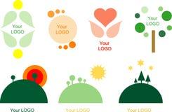 Ensemble de 7 éléments de conception de logo illustration de vecteur