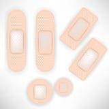 Ensemble de bandages Photos stock