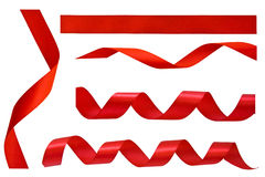 Ensemble de bandes rouges Image libre de droits