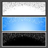 Ensemble de bannières horizontales - 04 Photo stock