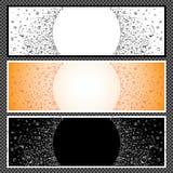 Ensemble de bannières horizontales - 06 Photo stock