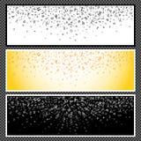 Ensemble de bannières horizontales - 08 Image stock