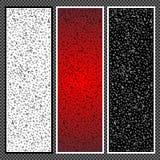 Ensemble de bannières verticales - 05 Images stock