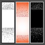 Ensemble de bannières verticales - 10 Image stock