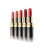 Ensemble de beaux rouges à lèvres Images libres de droits