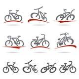 Ensemble de bicyclette Vecteur Image libre de droits