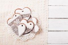 Ensemble de biscuits faits maison Image libre de droits